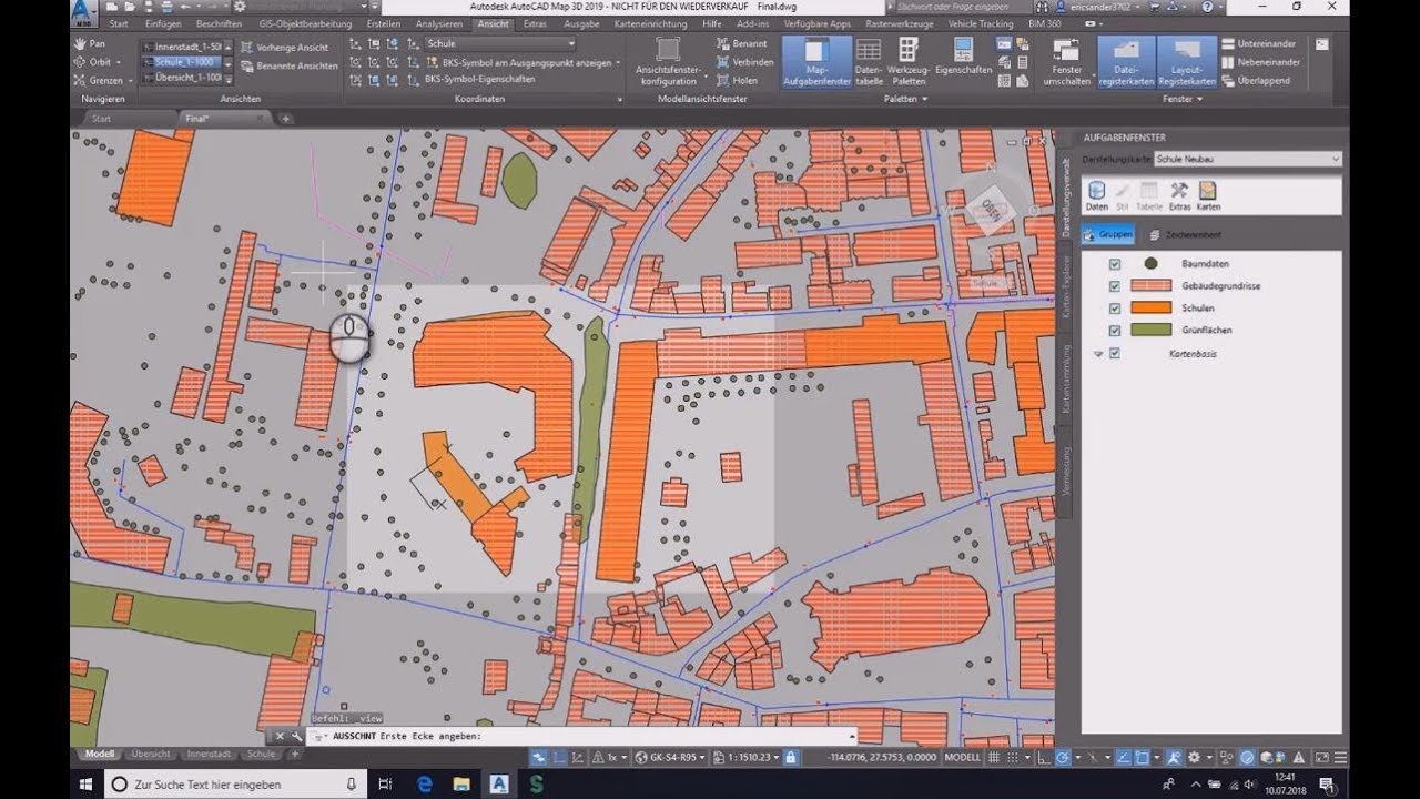 AutoCAD Map 3D | GIS & Mapping - Bytes & Building on