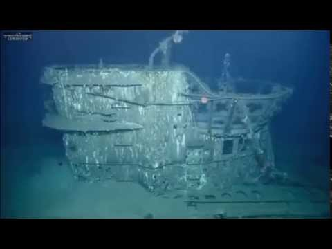 U-166 - Exploring the Wreck Of A German U Boat. Nautilus Live July 6,2014