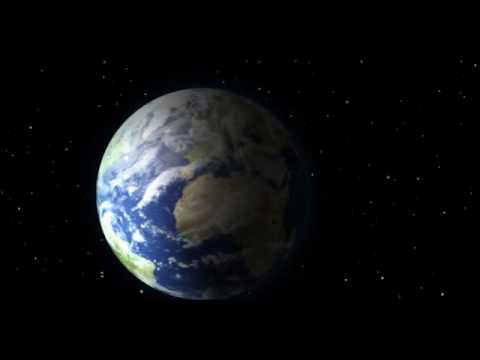 Earth Zoom & Earth from Space Animation 3D - YouTube