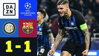 Mauro Icardi bezwingt Marc-Andre ter Stegen: Inter-Barcelona 1:1 | Champions League | Highlights