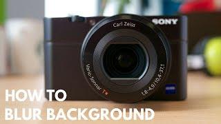Video How to Blur Background in Digital Camera download MP3, 3GP, MP4, WEBM, AVI, FLV Juli 2018