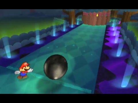 Paper Mario: Sticker Star Walkthrough - Wiggler Segment #3 & W3-11 Holey Thicket