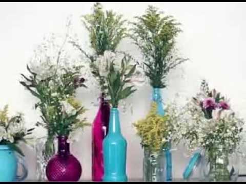 Botellas vintage youtube - Decoracion de botellas ...