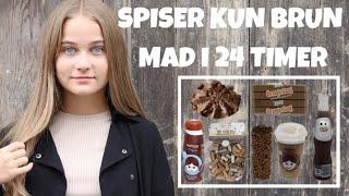 Spiser Kun Brun Mad I 24 Timer Challenge