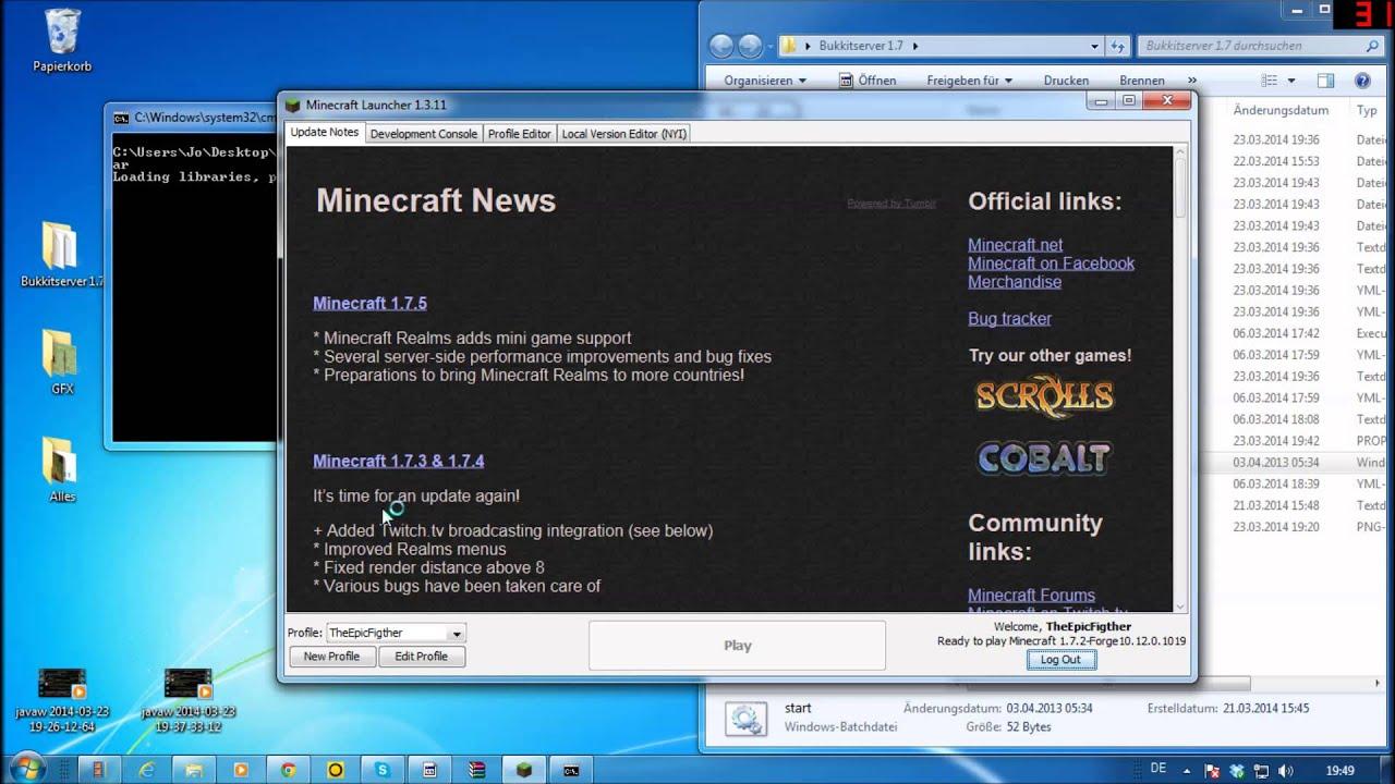 Minecraft Bukkit Server Bild EinfügenErstellen GERMANDEUTSCH - Minecraft server erstellen 1 8 bukkit