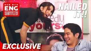 Exclusive: Nailed it! Julia Barretto impersonates Joshua Garcia