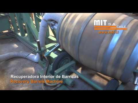 Barrel Recovery Machine