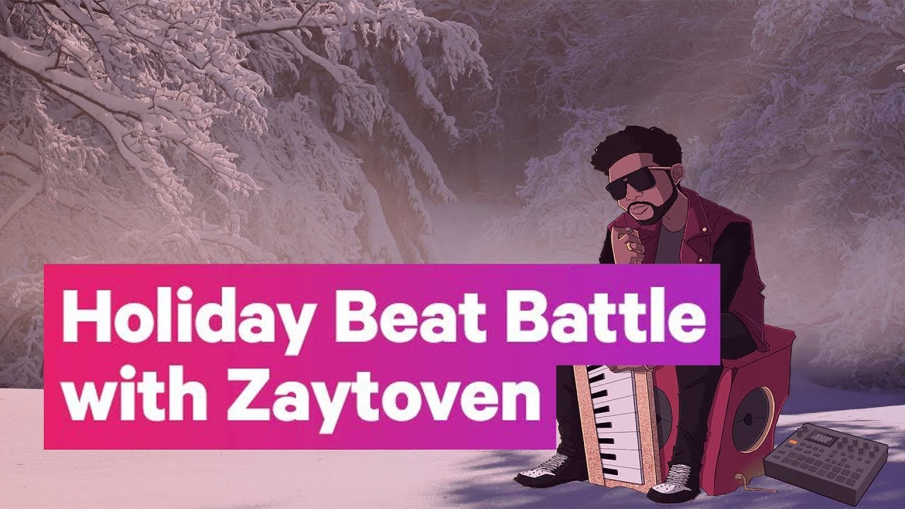 Holiday Beat Battle with Zaytoven and Tracklib