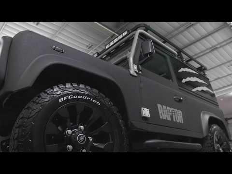 RAPTOR® Land Rover Makeover