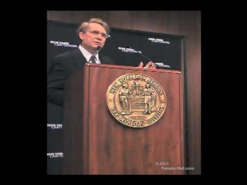 """NY Law School Symposium """"Sharia in America""""  Frank Vogel (Day 2)"""