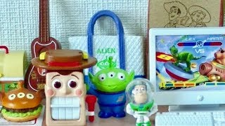 Repeat youtube video RE-MENT TOY STORY Happy Toy Room Disney Pixar