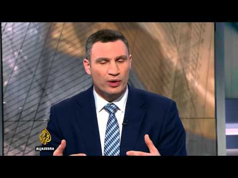 UpFront - Klitschko on Ukraine, Russia and a new Cold War th