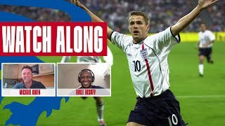 It was the Best Moment of my Career Owen Heskey react to Germany 1 5 England Watch Along