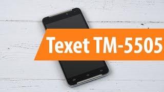 распаковка texet TM-5505 / Unboxing texet TM-5505