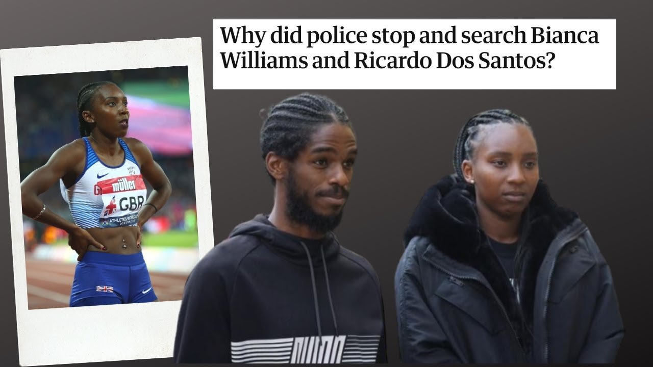 Bianca Williams Stopped! police remove British athlete out of the car with 3 months old baby?