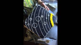 Cake Timelapse -Ashley Shotwell - Outer Space Solar System Cake