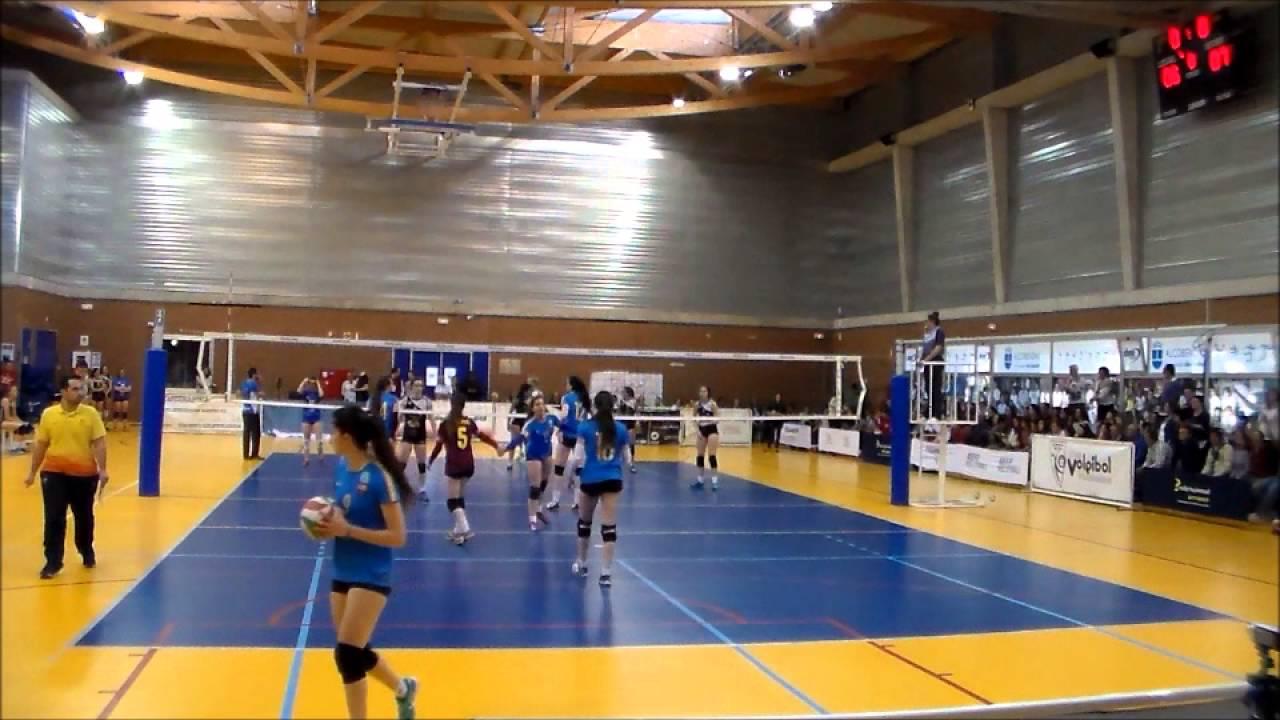 JuvFem. Semifinal CEJF. CVB Barcelona - Sancho Reebok Voley Jun