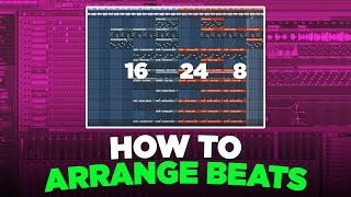 HOW TO ARRANGE YOUR BEATS AND TURN THEM INTO SONGS FOR ARTISTS
