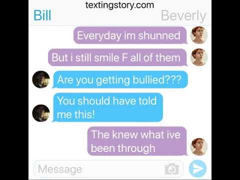 Beverly pranks Bill with her own song! (TextingStory)