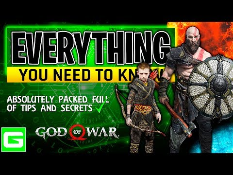 Complete Guide for God of War | Beginners to Advanced | Everything you Need to Know (GOW 2018)