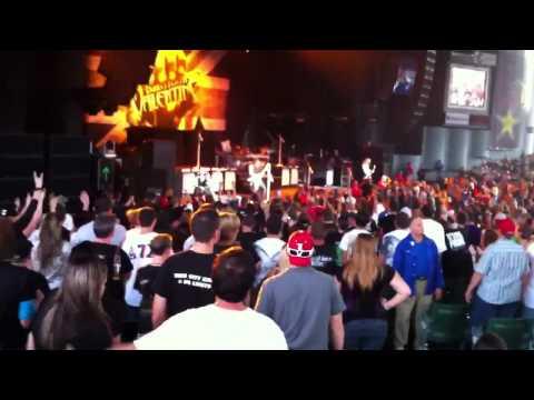 Bullet For My Valentine. Scream, Aim, Fire! Rockstar Uproar 2011 DTE Energy MI