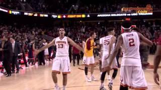 USC Men's Basketball: Trojans upset #7 Arizona Wildcats in 4OT