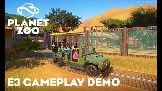 E3 Planet Zoo Gameplay Demo Review!