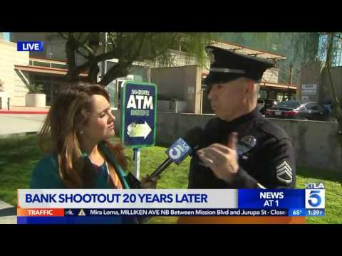 LAPD Officer Recalls Televised North Hollywood Shootout on 20th Anniversary