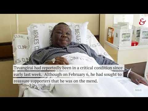 Morgan Tsvangirai has passed away