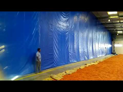 Warehouse wall curtain  projects in india
