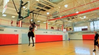 How to do a 360 dunk | basketball