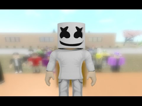 ROBLOX MUSIC VIDEO - Moving On (Marshmello)