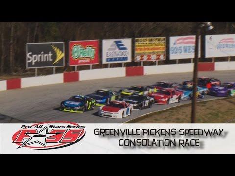 Greenville Pickens Speedway Winter Meltdown Consolation Race Feb 6 , 2016