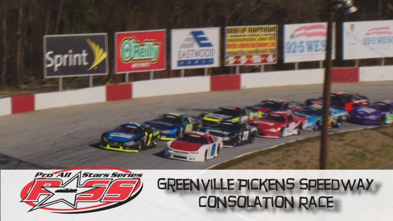 Greenville Pickens Speedway Winter Meltdown Consolation Race Feb 6 ...