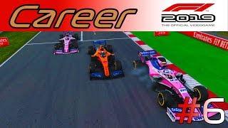 F1 2019 КАРЬЕРА #6 -  ПРОВАЛЬНАЯ СТРАТЕГИЯ