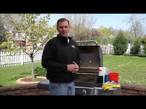 Weber Grills-Gas Grill Cleaning