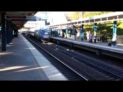 Amtrak Regional at Route 128 Station Westwood, MA