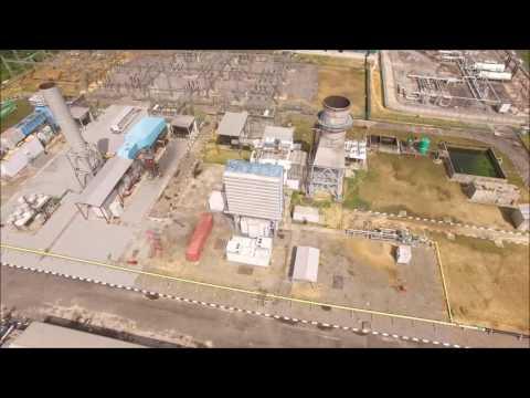 Ibom Power Plant, Akwa Ibom State, Nigeria Aerial Drone Video