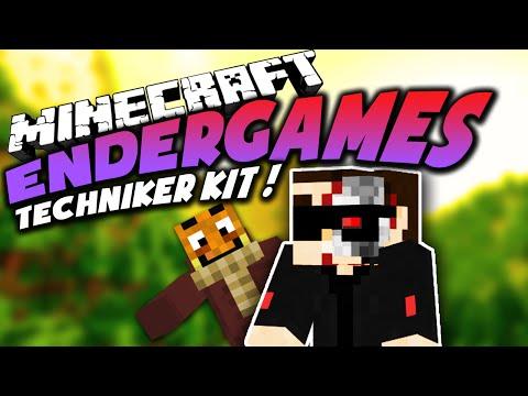 Komm Schon GET DOWN TECHNIKER Kit Bei Minecraft Endergames - Minecraft endergames spielen
