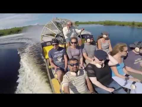 Everglades Airboat Ride (Cory Billy's) - 4K