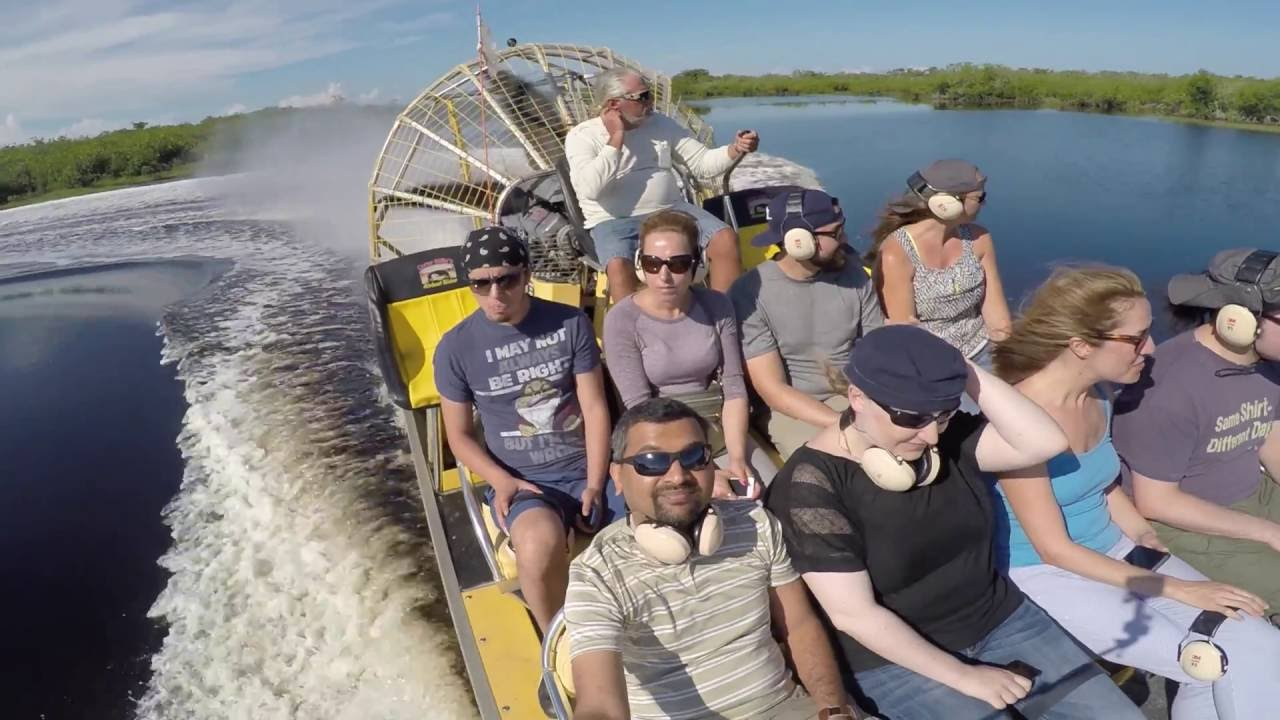 Everglades Airboat Ride Cory Billy S 4k