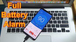 Best Full Battery Alarm App for Android screenshot 2
