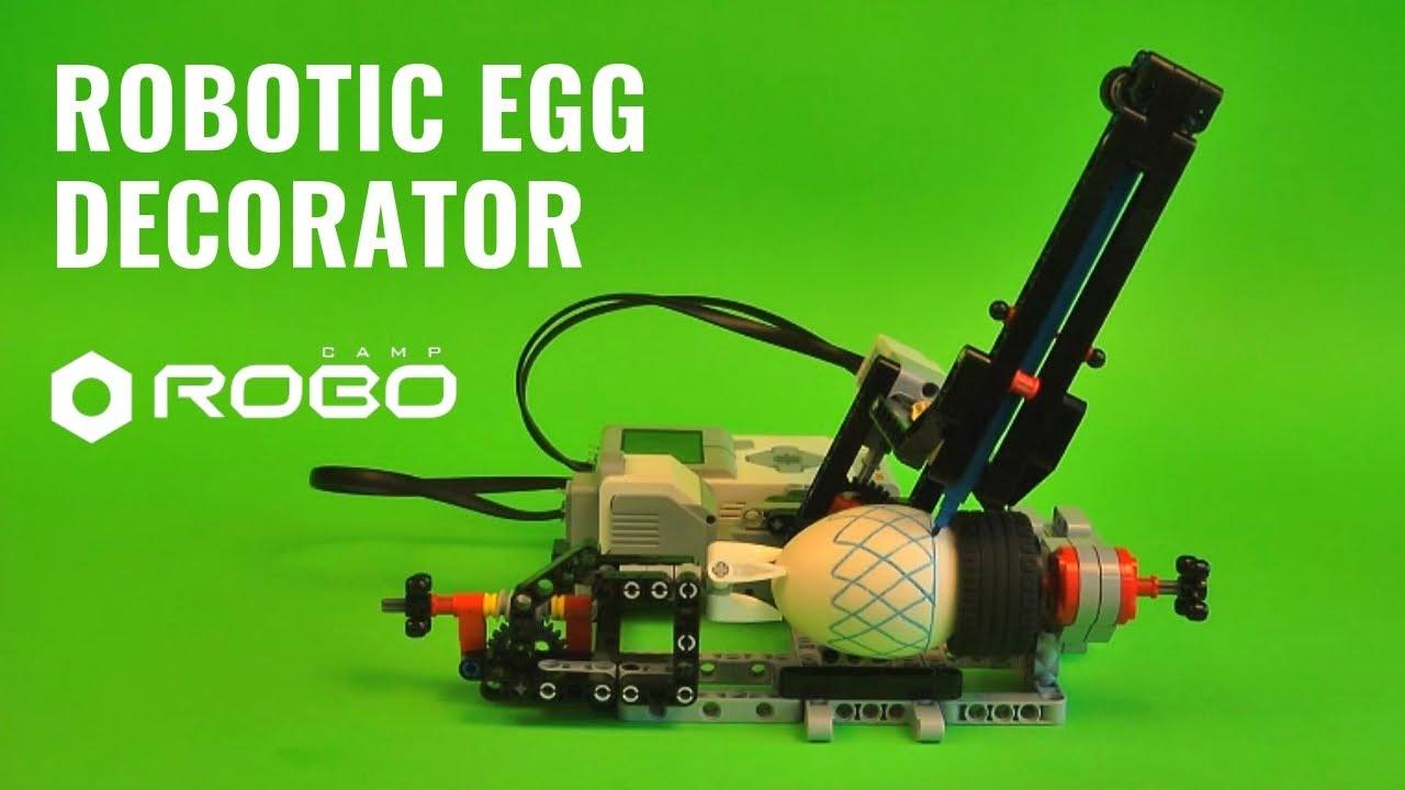 Robotics In School Lego Mindstorms Ev3 Egg Decorator