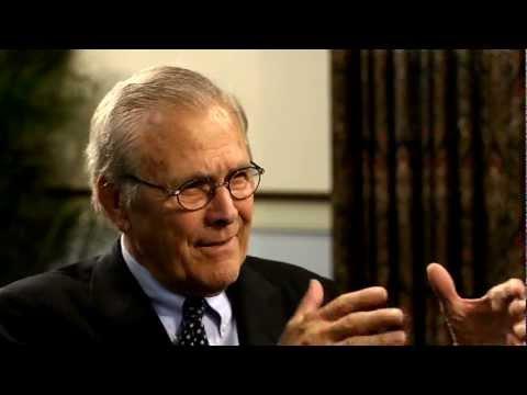 Mallory Factor Interviews Donald H. Rumsfeld