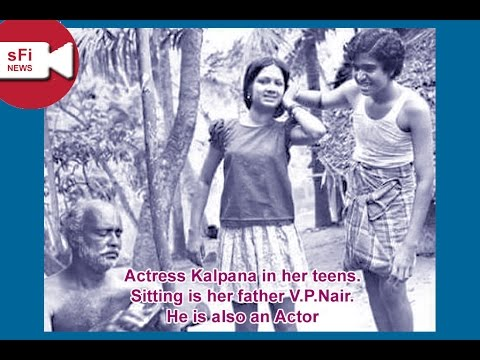 actress kalpana childhood and family photos
