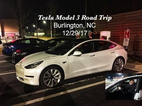 Tesla Ruby Meets Model 3 - The Model 3 Road Trip