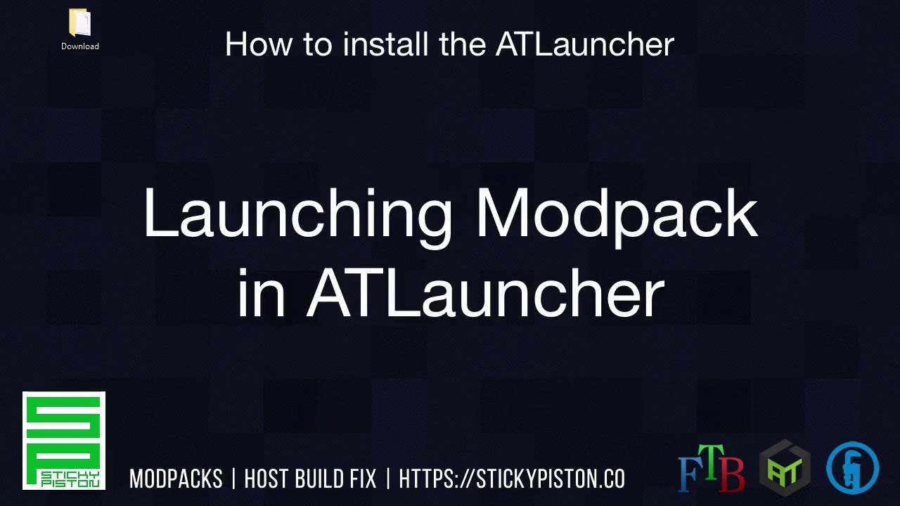 How to install the ATLauncher ATL video guide in 4 easy steps