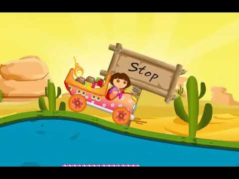 7c8d351b1 كرتون دورا - لعبة سيارة نقل حلويات دورا Dora the car transfer game ...