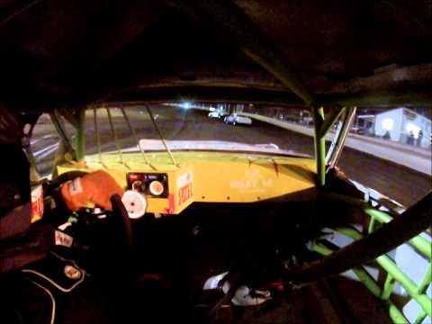 8-16-14 Cardinal Motor Speedway Hobby Stock Heat#3