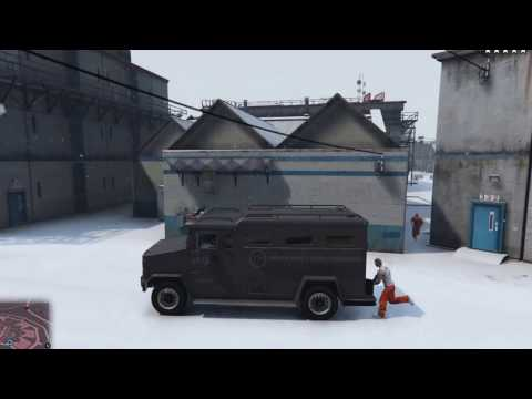 Grand Theft Auto V - The Prison Break Heist (Prison Guard Job)